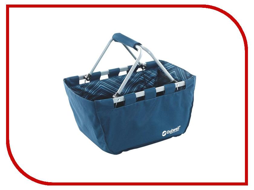 Корзина складная Outwell Folding Basket Blue 650455