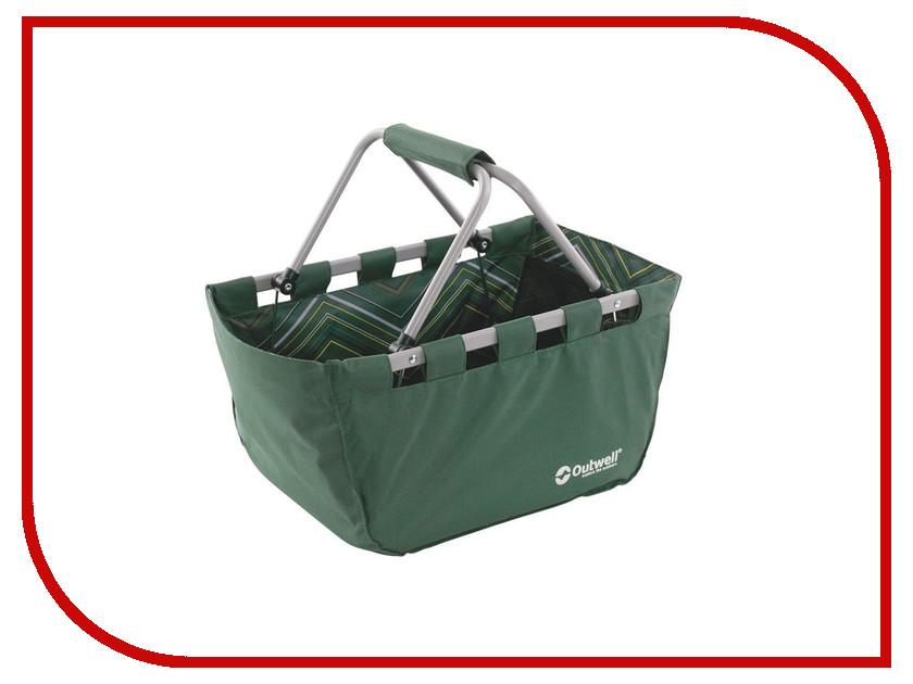 Корзина складная Outwell Folding Basket Green 650456