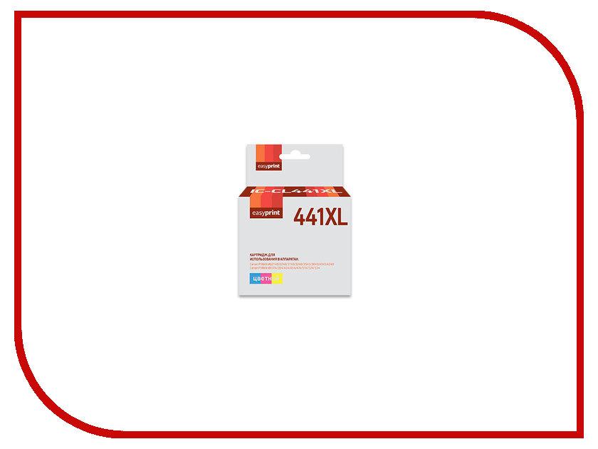 Картридж EasyPrint IC-CL441XL для Canon Pixma MG2140/3140/3540/MX394/434/474 Color картридж t2 ic cpg440xl для canon pixma mg2140 3140 3540 mx394 434 474 black