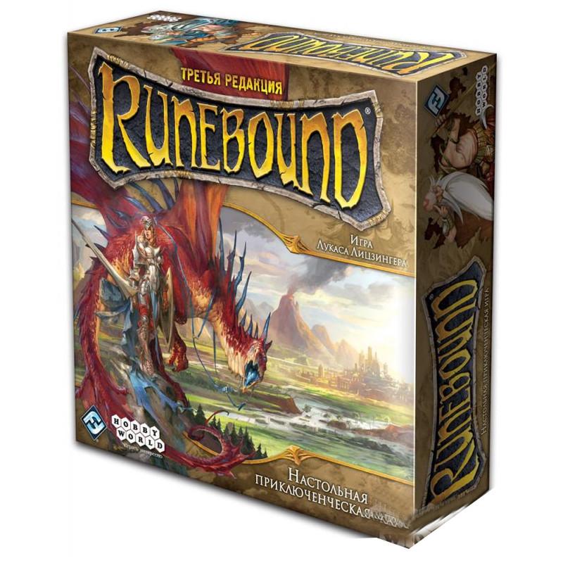 Настольная игра Hobby World Runebound Третья редакция 1599