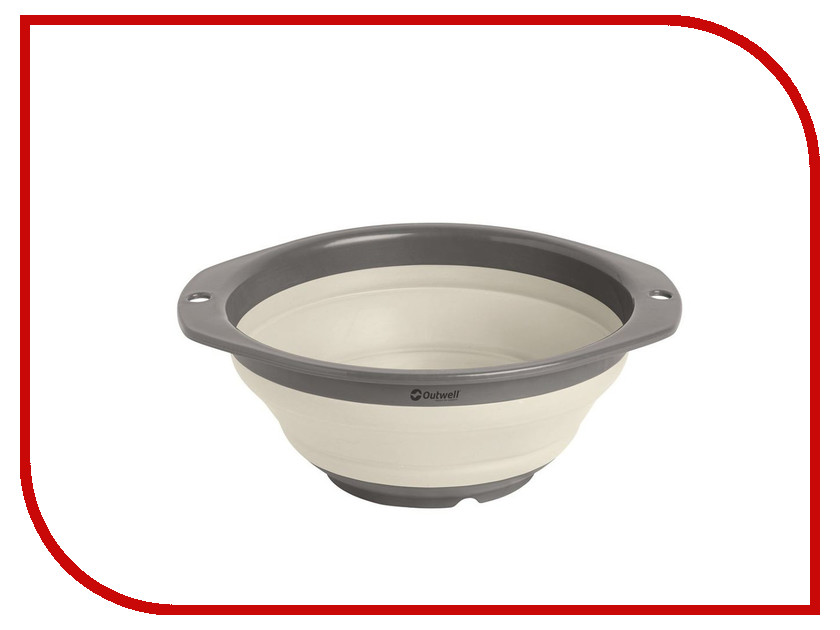 Миска Outwell Collaps Bowl S Cream White 650610