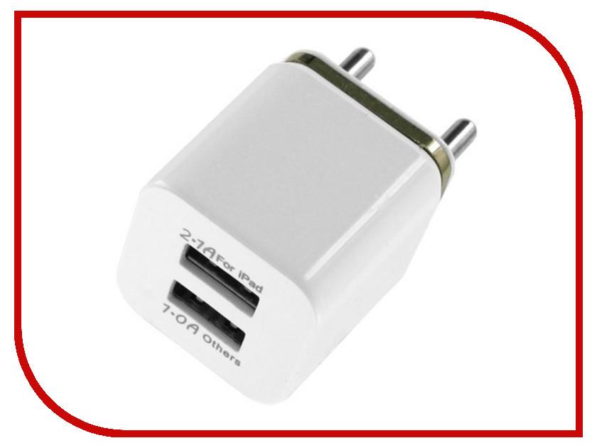 Зарядное устройство Krutoff YU300-1 2xUSB 3.1A 02096