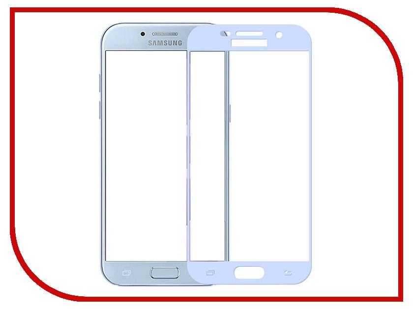 Аксессуар Стекло защитное Samsung Galaxy A5 2017 SM-A520F Krutoff Full Screen White 02506 защитное стекло для samsung galaxy a5 2016 inter step full screen cover samsung a5 black