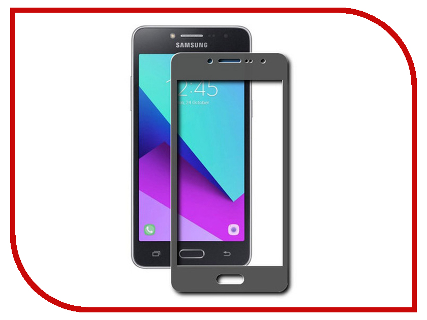 Аксессуар Стекло защитное для Samsung Galaxy J2 Prime SM-G532F Krutoff Full Screen Black 02517 uniq bodycon для samsung galaxy grand prime black