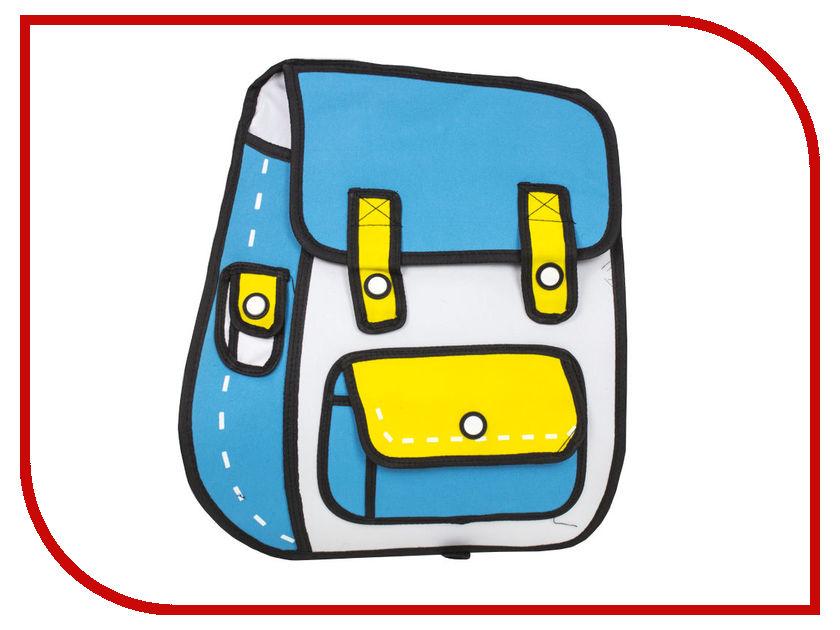 Рюкзак Megamind 3D Blue M7419