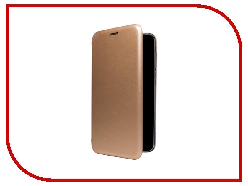 Аксессуар Чехол BQ BQ-5510/BQ-5594 Экокожа+Силикон Gold