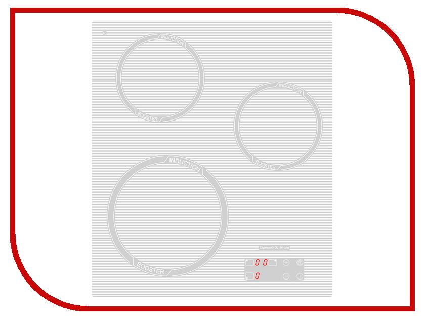 Варочная панель Zigmund & Shtain CIS 029.45 WX кухонная мойка zigmund amp shtain kaskade 800 швейцарский шоколад