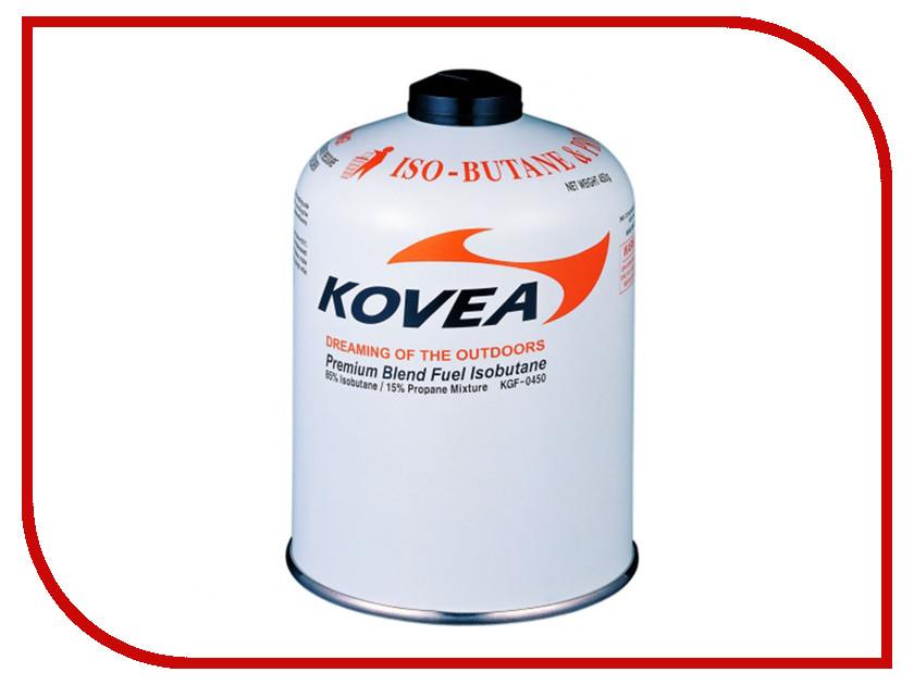 Газовый баллон Kovea Screw 450g KGF-450 газовый баллон kovea kovea 220 бутан пропан