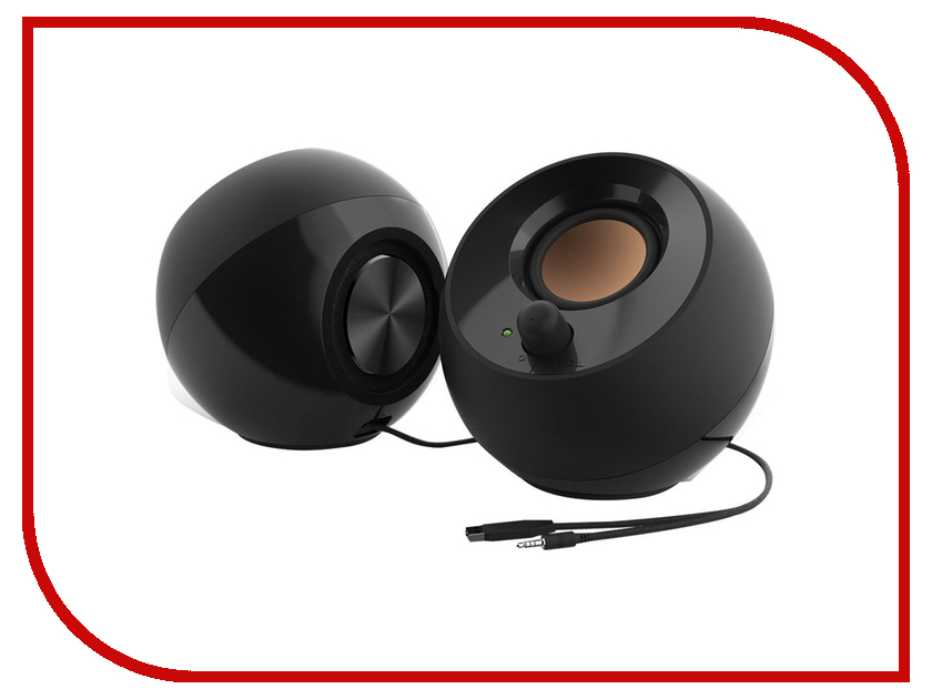 Фото - Колонка Creative Pebble MF1680 Black беспроводная bluetooth колонка edifier m33bt