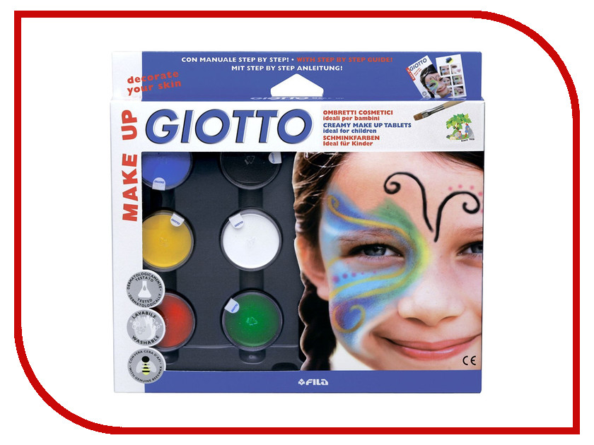 Набор Giotto Make Up Грим-крем 5 цветов 470100 набор крем kora набор spa лифтинг уход набор