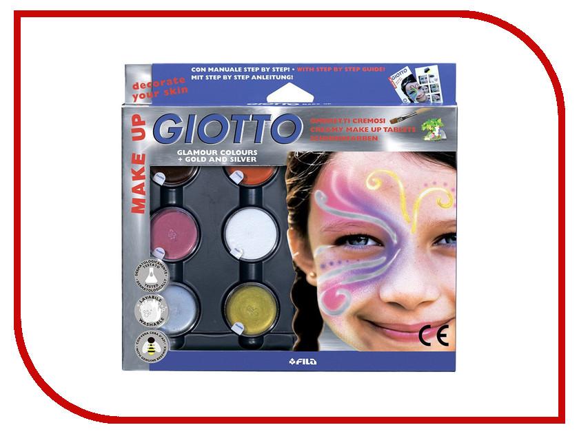 Набор Giotto Make Up Грим-крем 5 цветов 471100 набор д творчества giotto make up classic набор д грима 6 классических цветов карандашей 470200