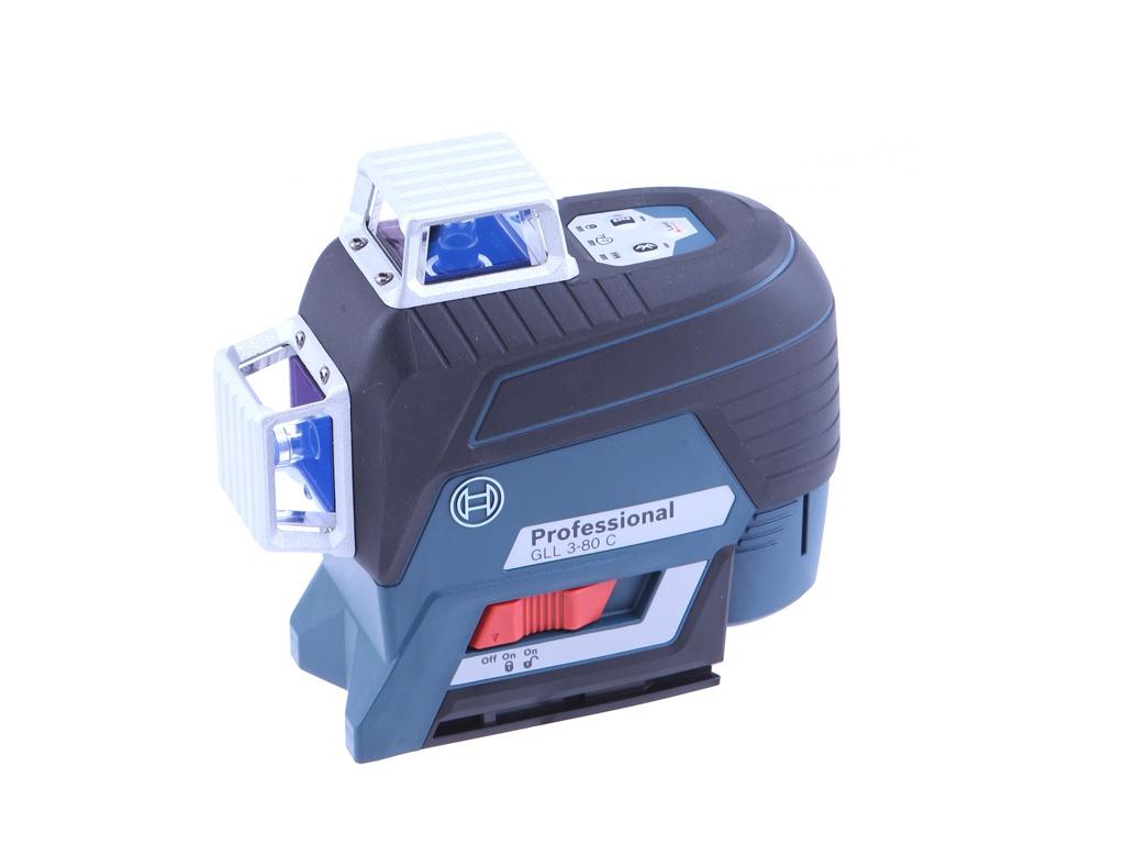 Нивелир Bosch GLL 3-80 C Professional 0601063R00 измерительное колесо bosch gwm 40 professional