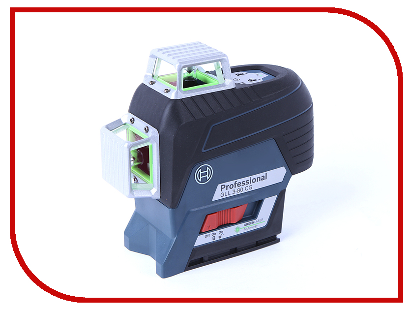 Нивелир Bosch GLL 3-80 CG Professional 0601063T00 bosch 0 601 063 702 gll 2 15 prof bm 3
