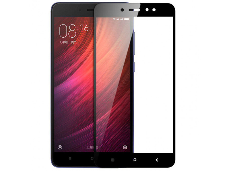 Аксессуар Стекло защитное Krutoff для Xiaomi Redmi Note 5A Prime Full Screen Black 02531 цена