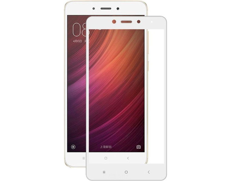 Аксессуар Стекло защитное Krutoff для Xiaomi Redmi Note 4 Full Screen White 02526 аксессуар стекло защитное для xiaomi redmi note 4x krutoff full screen white 02528