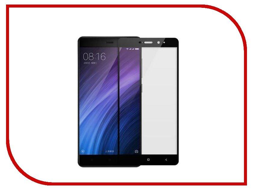Аксессуар Стекло защитное для Xiaomi Redmi 4A Krutoff Full Screen Black 02523 аксессуар защитное стекло xiaomi redmi 4a ainy full screen cover 0 33mm black
