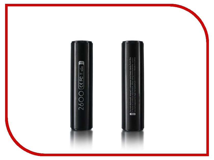 Аккумулятор Remax Jadore RPL-33 2600mAh Black 48481