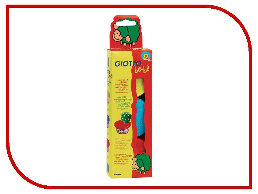 Набор для лепки Giotto Be-Be Super Modelling Dough Паста для моделирования 3 цвета 462501