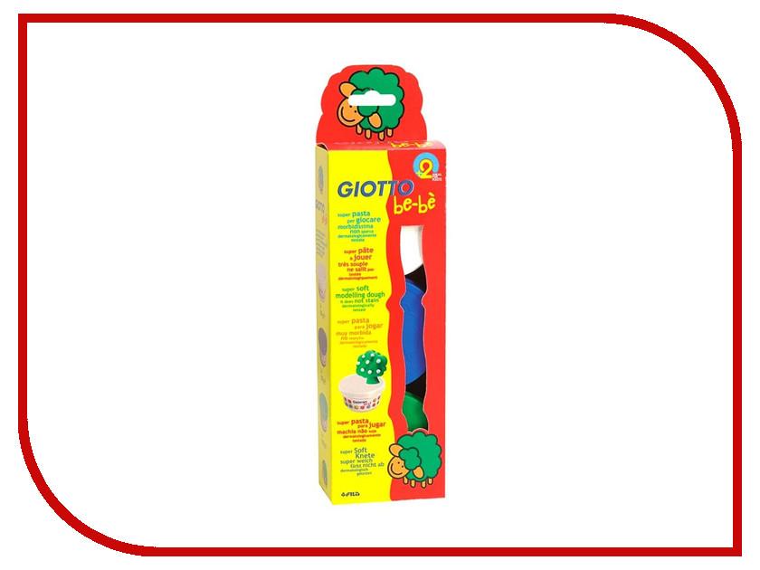 Набор для лепки Giotto Be-Be Super Modelling Dough Паста для моделирования 3 цвета 462503