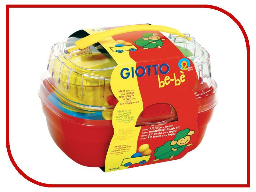 Набор для лепки Giotto Be-Be Bucket Паста для моделирования 4 цвета + инструменты 462600 filtero phi 02 экстра мешок пылесборник для philips 2 шт