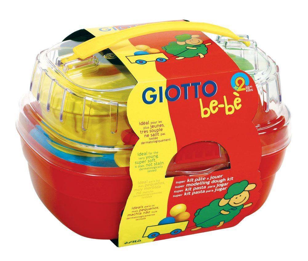 Набор для лепки Giotto Be-Be Bucket Паста моделирования 4 цвета + инструменты 462600