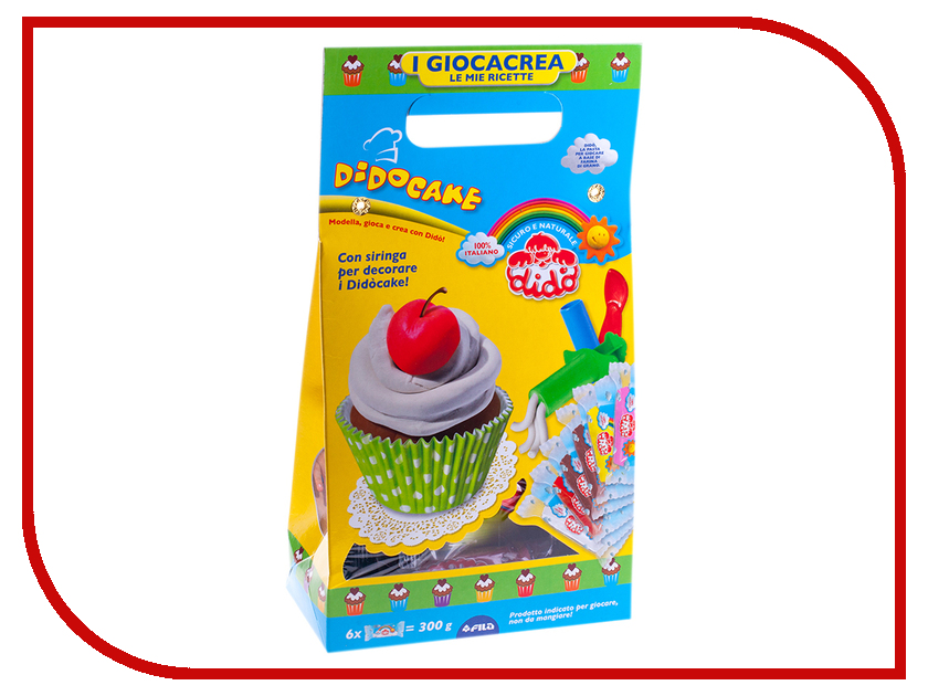 Набор для лепки Dido Cake Набор для лепки 6 цветов 399100 всё для лепки playgo набор 8636