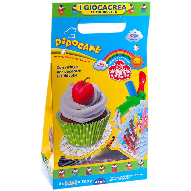 Набор для лепки Dido Cake 6 цветов 399100