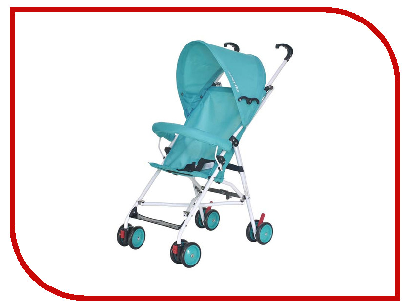 Коляска Everflo Simple Blue Е-100 ПП100004008 коляска everflo cruise blue e 550 пп100004172