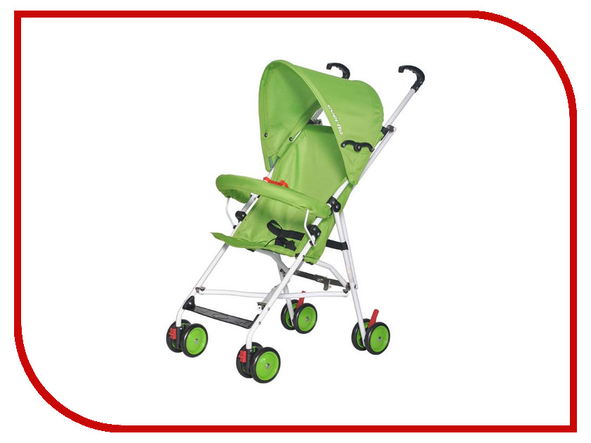 Коляска Everflo Simple Green Е-100 ПП100004007 коляска everflo cruise green e 550 пп100004170