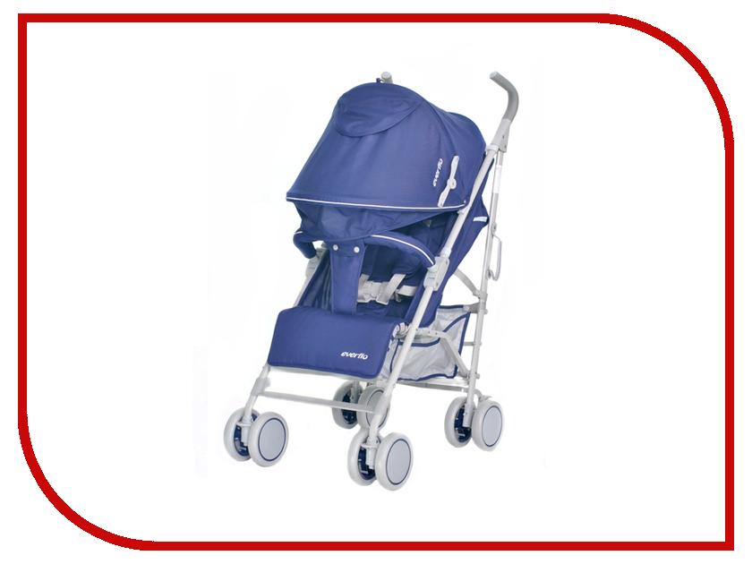 Коляска Everflo ATV Dark Blue Е-1266 ПП100004112 прогулочная коляска мишутка e 1266 черная