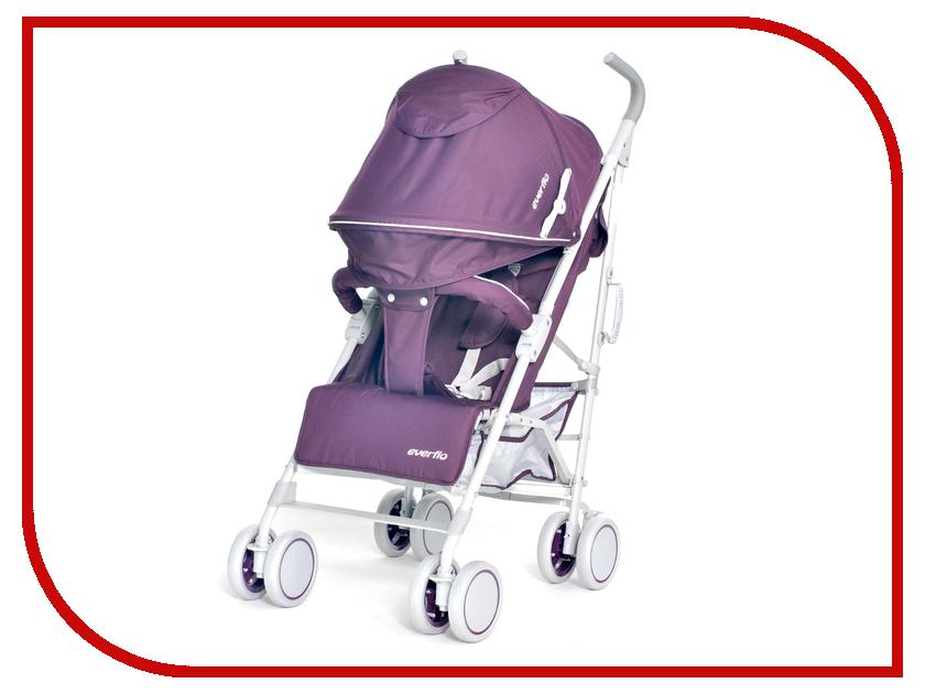 Коляска Everflo ATV Purple Е-1266 ПП100004114 прогулочная коляска мишутка e 1266 черная