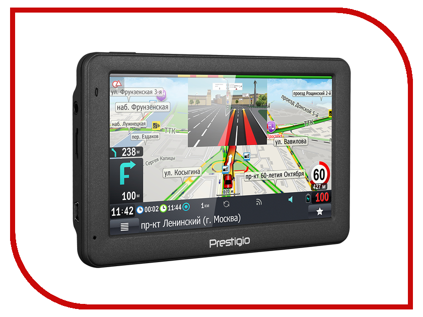 Навигатор Prestigio GeoVision 5059 Progorod gps навигатор prestigio geovision 5059 navitel темно серый
