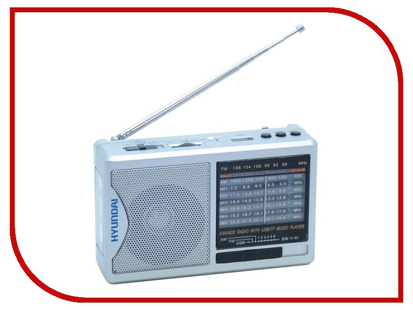 Фото Радиоприемник Hyundai H-PSR160