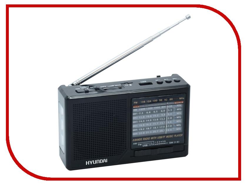 Радиоприемник Hyundai H-PSR140 телевизор hyundai h led32r401bs2