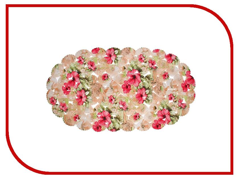 Коврик для купания Доляна Цветник 1700752