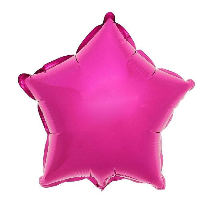 Шар фольгированный Flexmetal Звезда 9 Purple 1246942