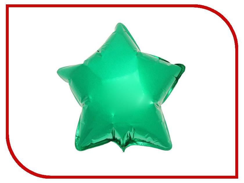Шар фольгированный Flexmetal Звезда 9 Green 1246941 018 1 lifelike fish style 9 hook fishing bait green