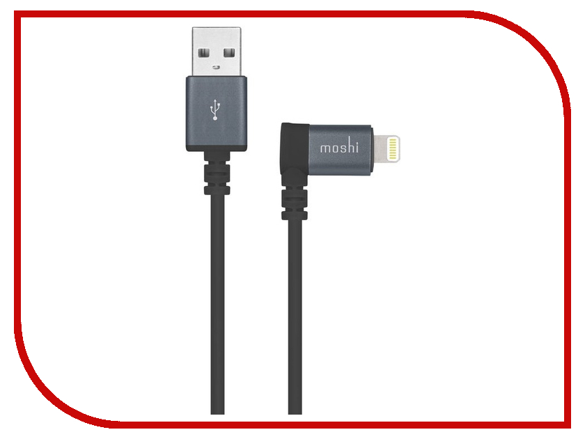 Аксессуар Moshi Lightning to USB Cable Black 1.5m 99MO023043 moshi monsters monsteriffic comic collection