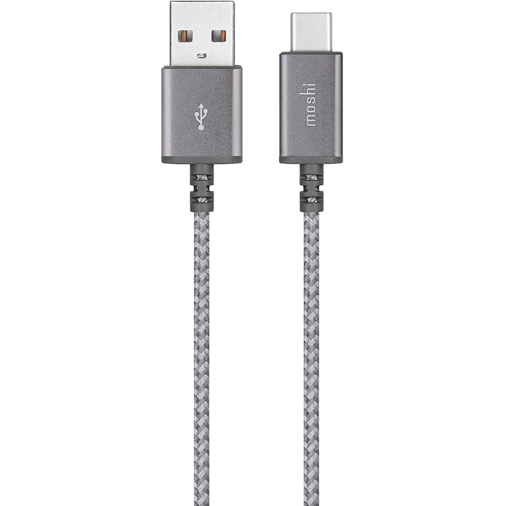 Аксессуар Moshi Integra USB-C to USB Titanium Gray 1.5m 99MO084211
