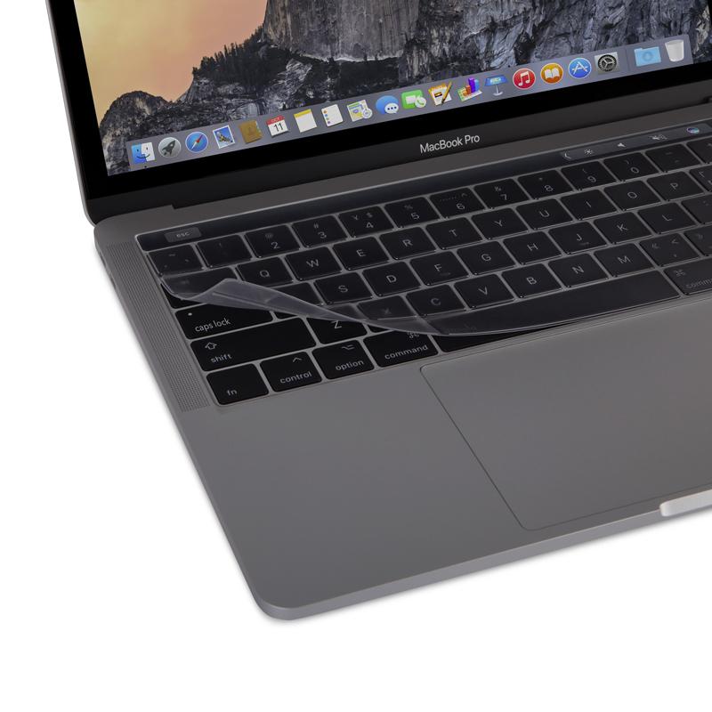 Аксессуар Защитная накладка для клавиатуры Moshi для MacBook Pro 13/15 with Touch Bar 99MO021918 накладка daav для macbook pro 13