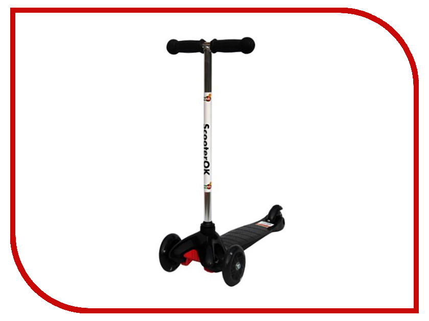 Самокат BabyHit ScooterOK Black babyhit scooterok tolocar orange