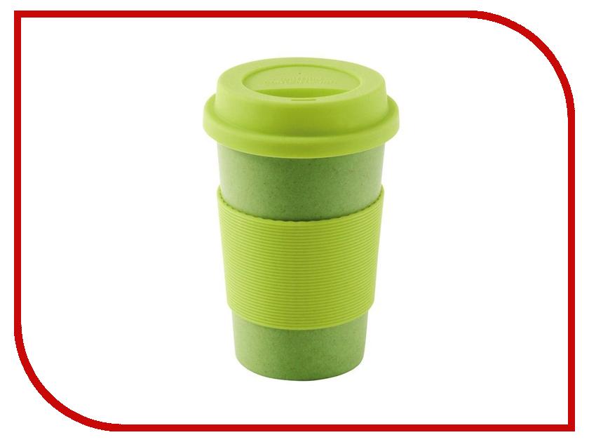 Кружка с крышкой Outwell Bamboo Cup Green 650403