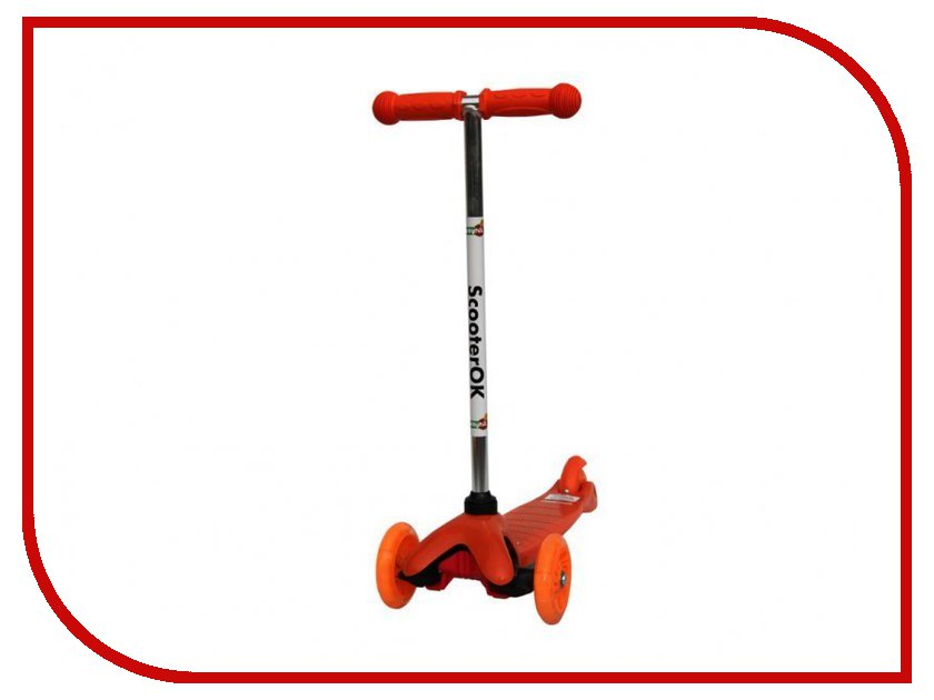 Самокат BabyHit ScooterOK Orange babyhit scooterok tolocar orange