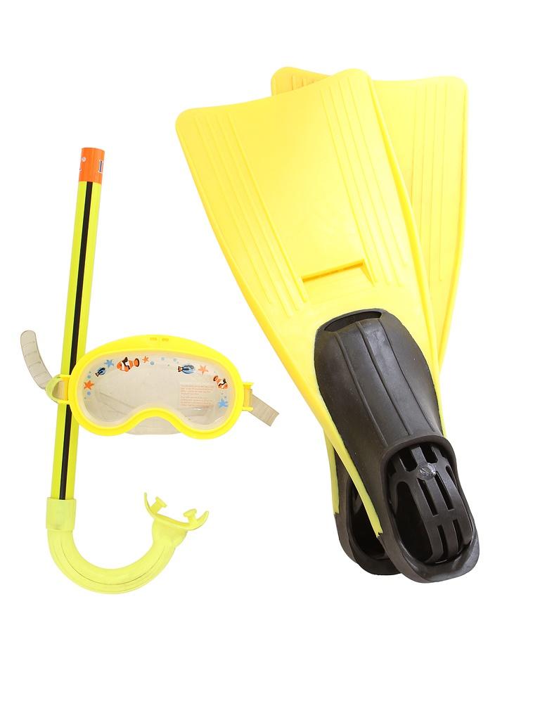 Набор маска + трубка + ласты Intex Junior Sport Set 55956
