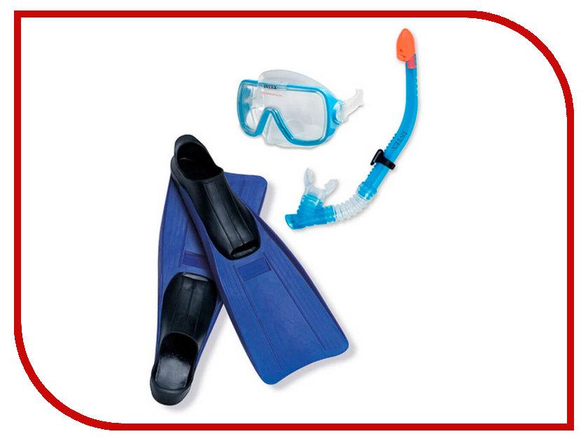 Набор маска + трубка + ласты Intex Wive Rider Set 55958 лодка intex challenger k1 68305