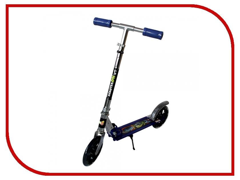Самокат BabyHit ScooterOK XT Blue самокат babyhit scooterok plus зеленый