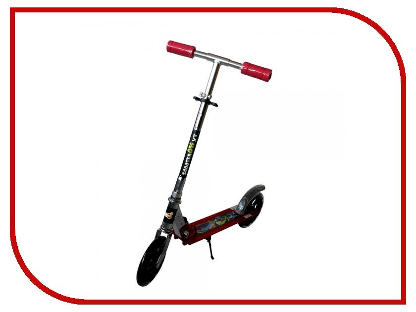 Самокат BabyHit ScooterOK XT Red самокат babyhit scooterok plus зеленый