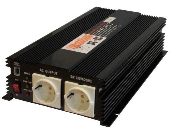 Автоинвертор Intelligent 12В 1500Вт 1702-8552