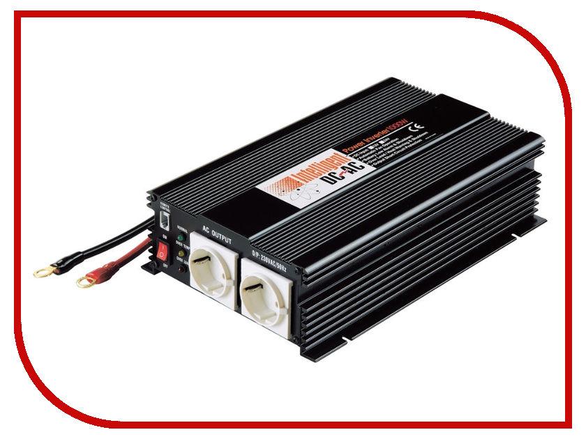 Автоинвертор Intelligent 12В 1000Вт 1702-8550