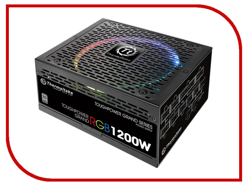 Блок питания Thermaltake Toughpower Grand RGB 1200W 80+ Platinum PS-TPG-1200F1FAPE-1 блок питания пк thermaltake atx 850w toughpower grand rgb ps tpg 0850fpcgeu r